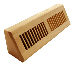 Wood Floor vents, baseboard diffusers, baseboard vents, base vents, baseboard air registers, manufacturer, supplier
