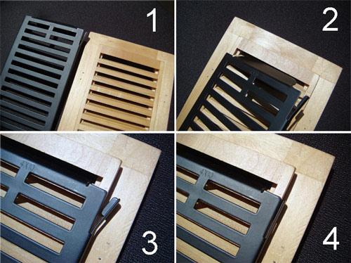 Floor Vent Dampers Floor Register Damper Metal Damper