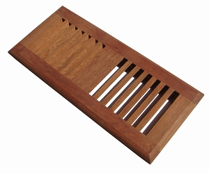 Brazilian cherry floor vent brazilian cherry floor vents for 6x12 wood floor register