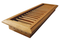 side wall vents, wood wall vents, wood air vents, wood air registers, air diffusers, air grills